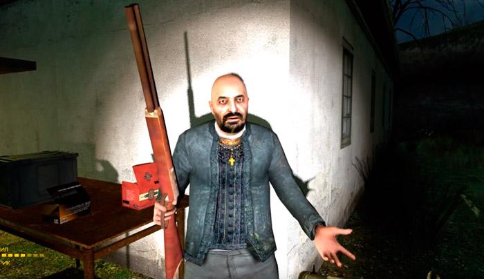 Отец Григорий из Half Life 2