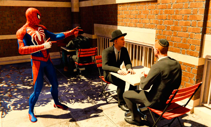 spider-man пасхалка про Евреев