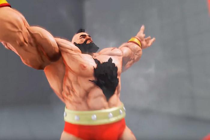 Зангиев из Street Fighter