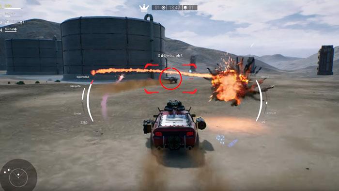 Diesel Guns гонка
