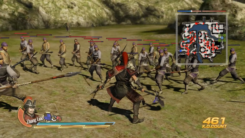 Dynasty Warriors про самураев на пк