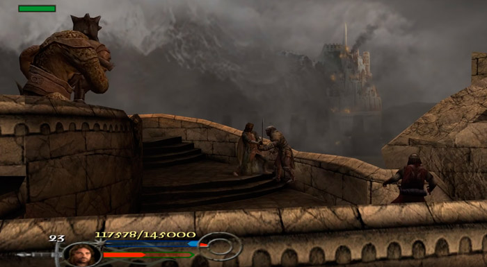The Lord of the Rings: The Return of the King игра