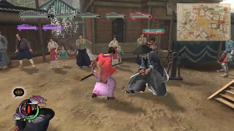 игры про самураев way of samurai