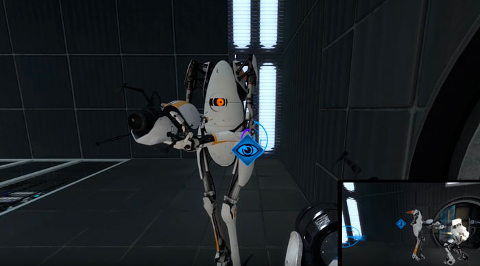 portal 2 с девушкой