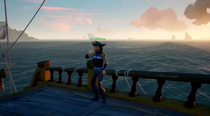 морские игры Sea of thieves