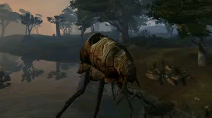 Силт-Страйдер из The Elder Scrolls 3: Morrowind