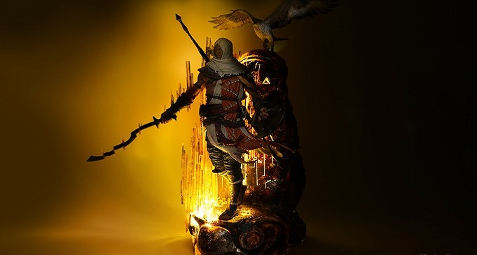 В преддверии Comic-Con в Сан-Диего Pure Arts и Ubisoft представили фигурку главного героя Assassin's Creed Origins