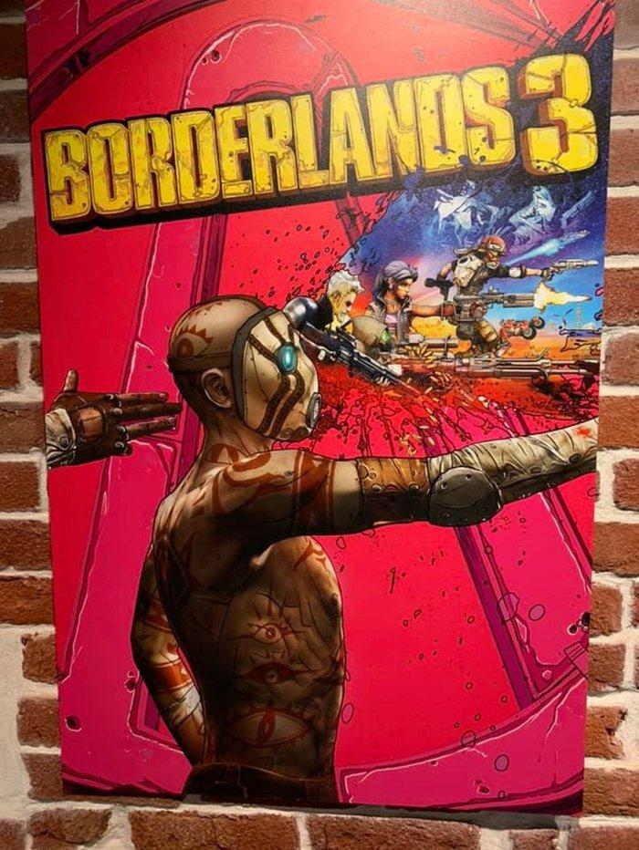 Какие варианты обложек были предложены для Borderlands 3