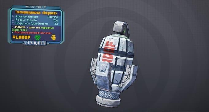 Гайд по модификаторам гранат в Borderlands 2