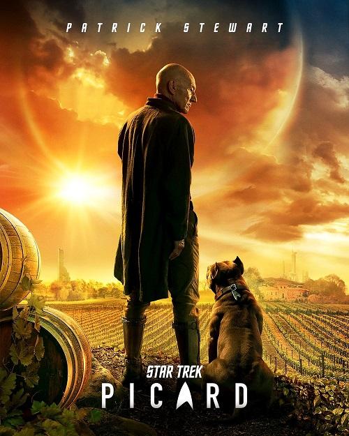 Виноградники Жана-Люка: Патрик Стюарт показал персональный постер Star Trek Picard