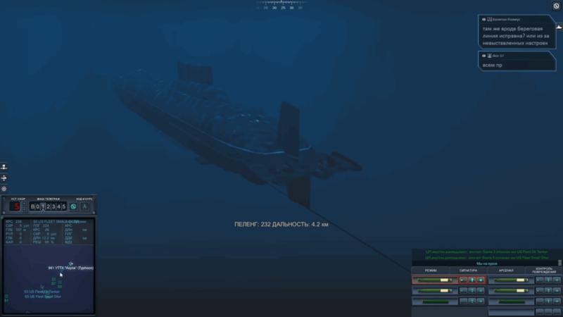 Cold Waters подводные лодки