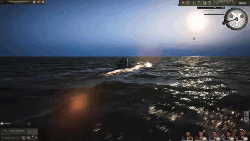 UBOAT симулятор лодки