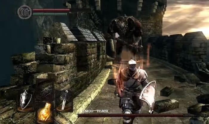 РПГ для слабого ПК Dark Souls