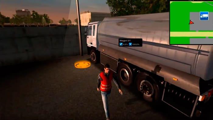 Tankwagen Simulator