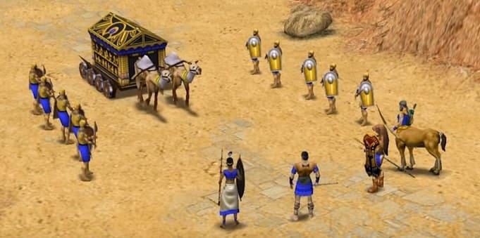 Age of Mythology - стратегическая игра в мире греческих мифов и легенд