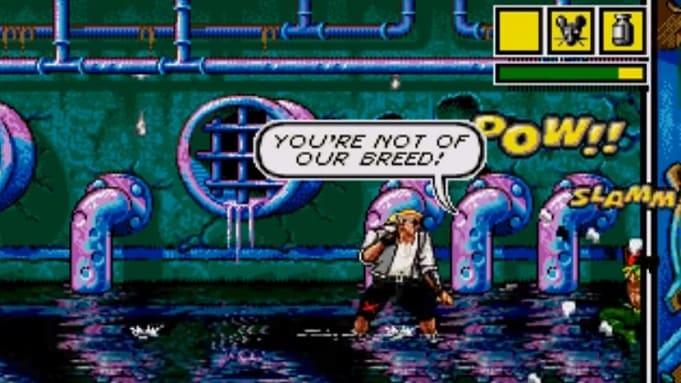 comix zone игра Sega