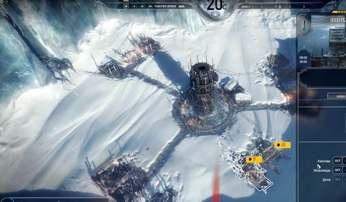 Frostpunk - Tycoon игра на ПК