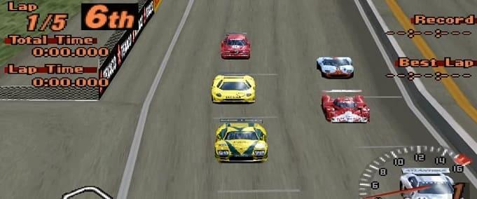 Gran Turismo 2 для ПС1