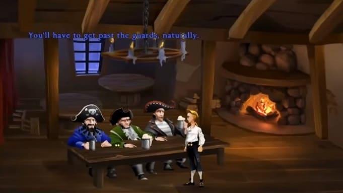 легендарный квест Monkey Island