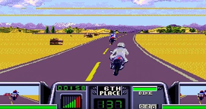 Road Rash 3 для Sega Mega Drive