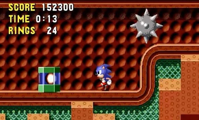 Sonic для sega mega drive