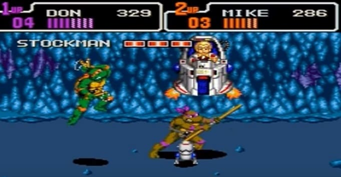 Teenage Mutant Ninja Turtles igra для sega mega drive