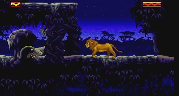 Король Лев для Sega