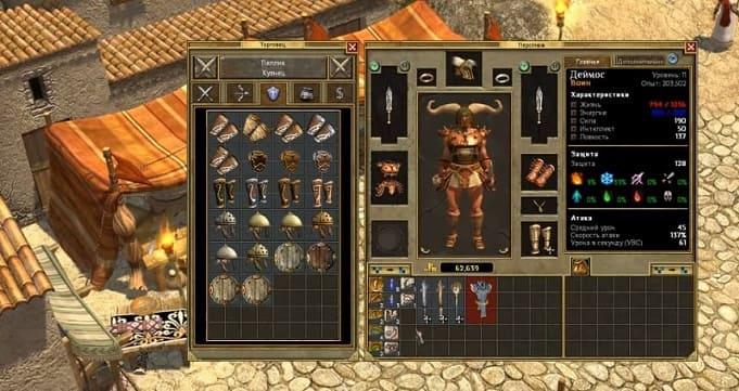 Titan Quest - отличная диаблоподобная игра с греческими мифами