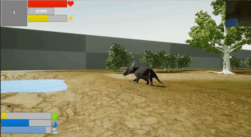 выживание Dinosaur Battlegrounds