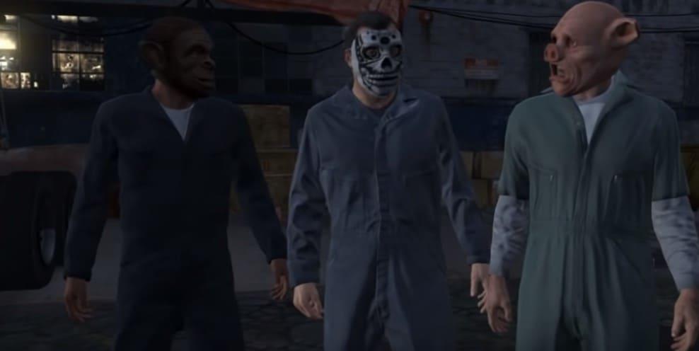 GTA 5 - игра о трёх преступниках
