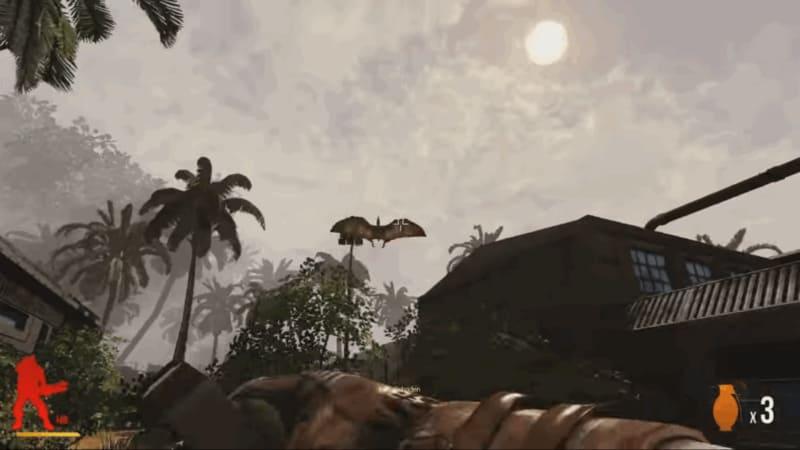 Primal Carnage игра про динозавров