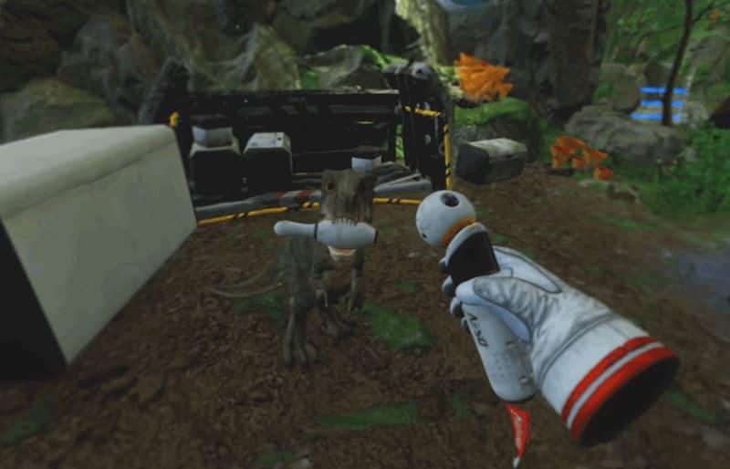Robinson: The Journey vr игра про динозавров