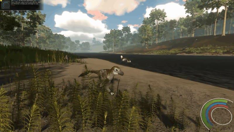 Saurian выживание динозавра
