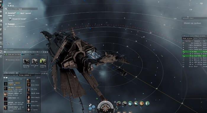 EVE лучшие игры про космос