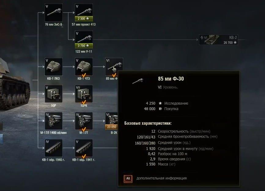 КВ 1 – самый историчный, самый популярный тяж World of Tanks