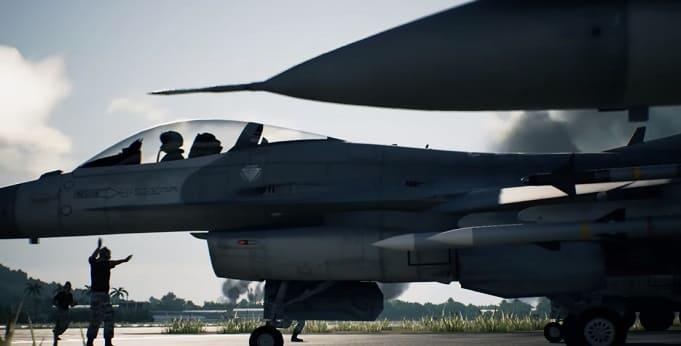 Ace Combat 7 самая красивая игра про самолёты