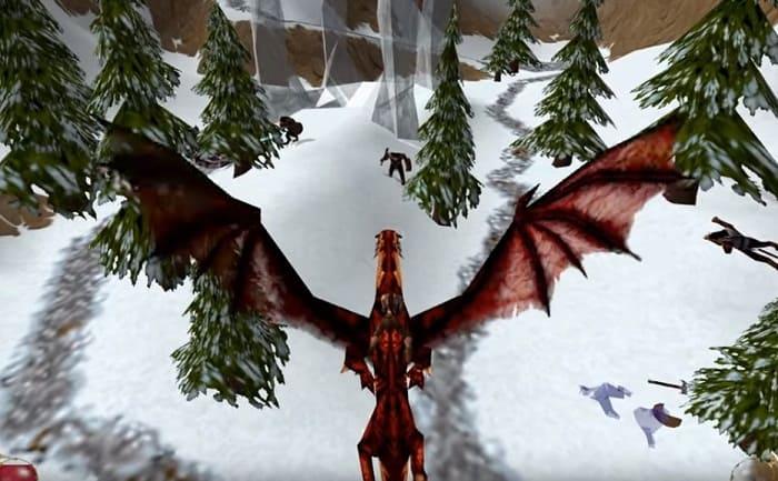 Drakan Order of the flame игр про драконов на пк