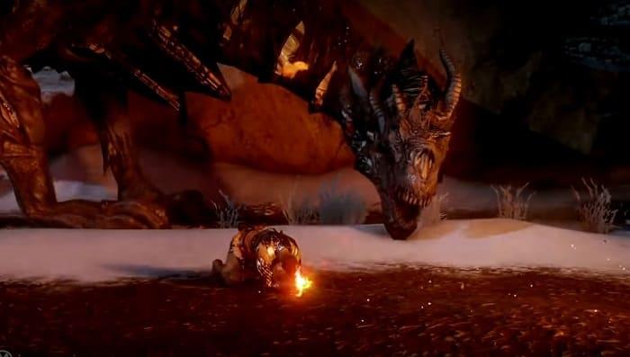 Серия Dragon Age про драконов