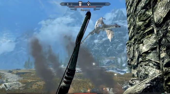 скайрим про драконов рпг