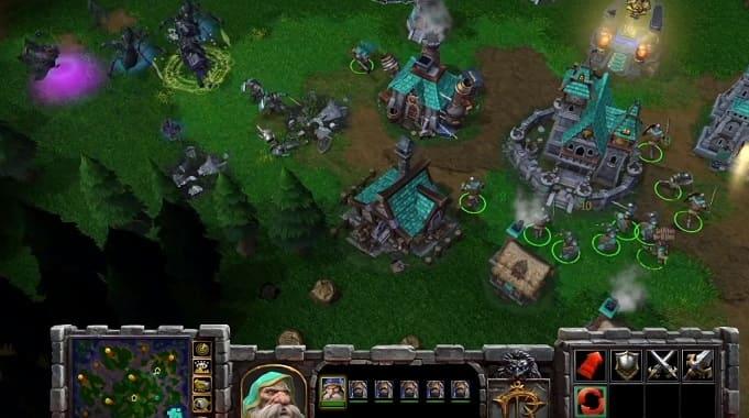Warcraft 3 стратегия о противостоянии орков, эльфов, людей и нежити
