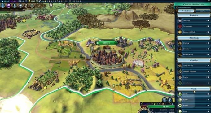 серия Civilization пошаговые стратегии