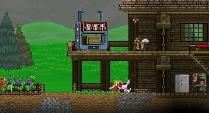 Starbound пиксельные игры на пк