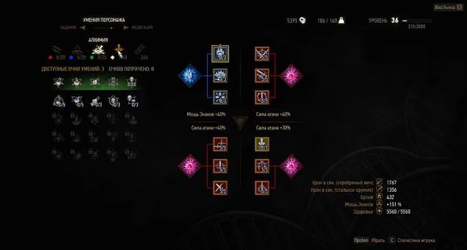 Какие умения качать в ведьмаке 3: Рекомендации и советы