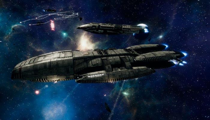 Battlestar Galactica Deadlock пошаговые стратегии