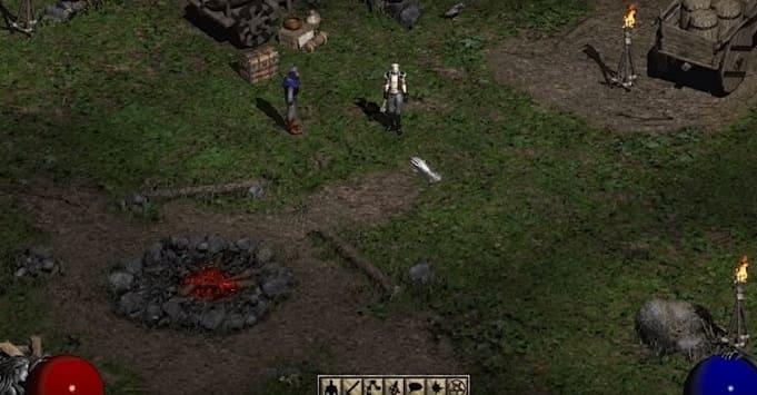 Diablo II лучшая рпг в стиле режь и руби