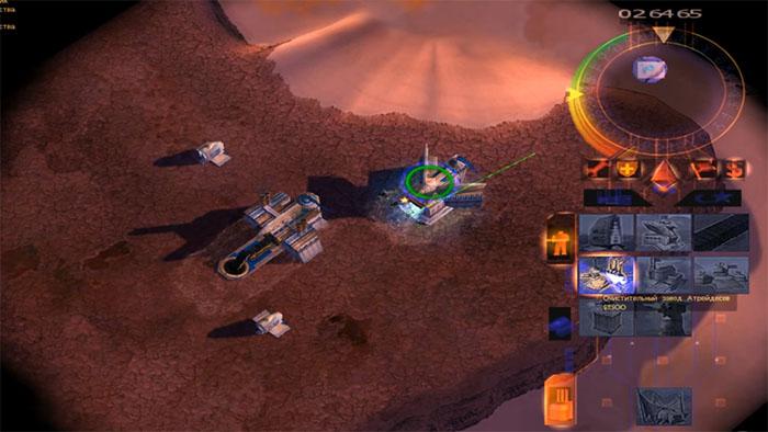 EMPEROR: BATTLE FOR DUNE (2001) - Игры серии Dune