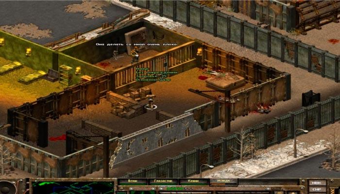 Fallout Tactics: Brotherhood Of Steel пошаговые стратегии