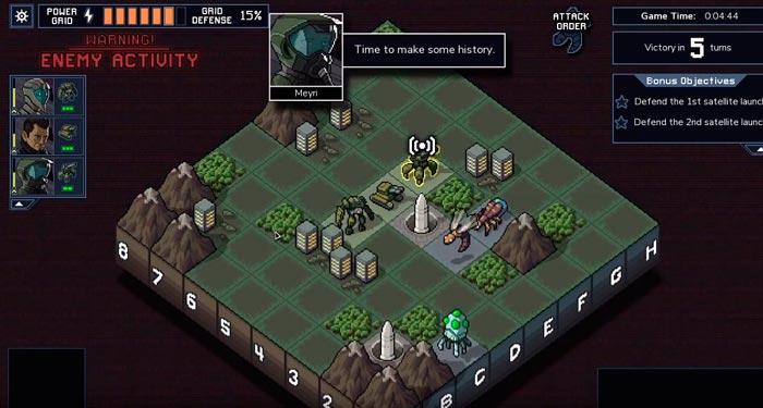 Into The Breach пошаговые стратегии