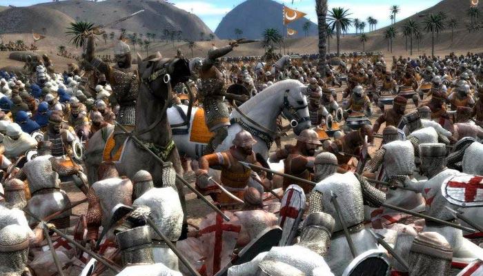 Medieval 2 Total War про рыцарей