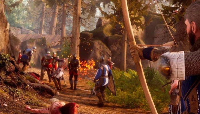 Mordhau игра про рыцарей